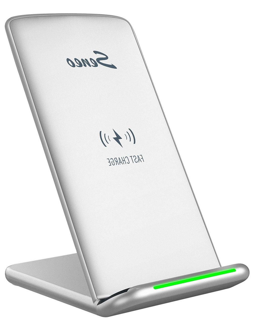 Wireless Charger Seneo iPhone X Wireless Charger Fast Wirele