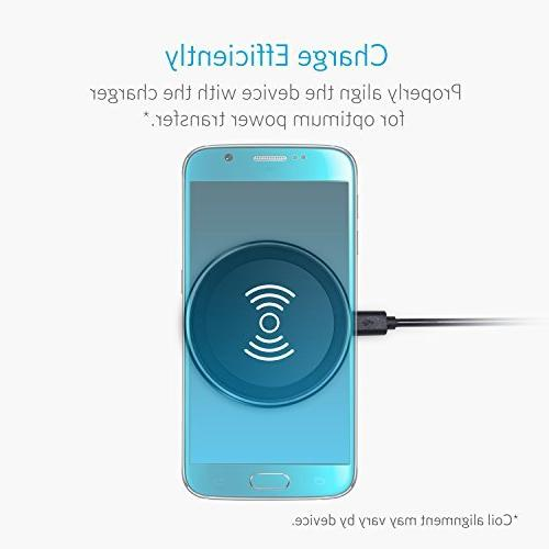 Anker Charger Pad Compatible Xs Max/XR / XS/X / Edge / Nexus 4/5 / LG G3 Devices