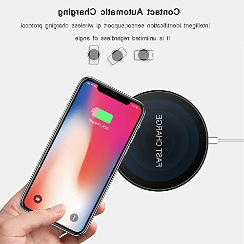 Wireless Wireless Compatible with iPhone Compatible 9/S9/S9 Qi-Enabled
