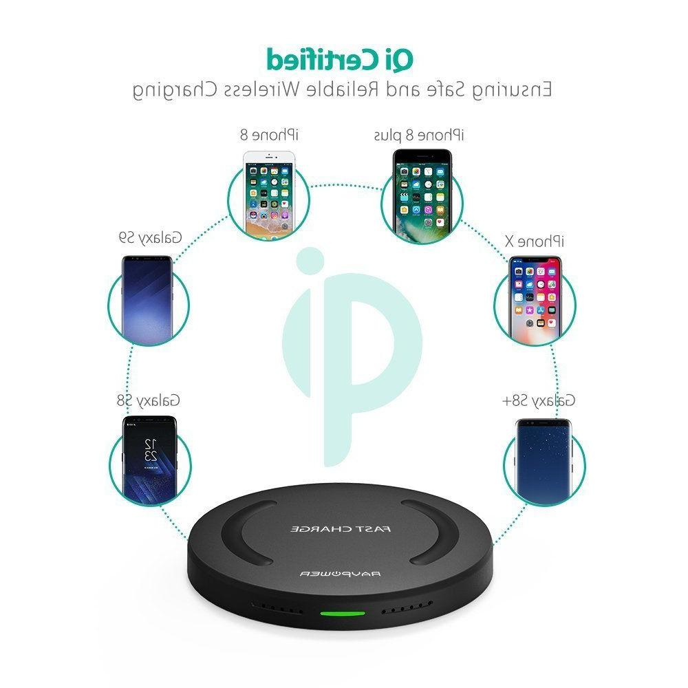 Wireless RAVPower Fast Wireless Charging Pad Quick