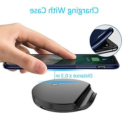 Squish Certified Charging Pad & Stand Galaxy S9/S9 Plus Charging (No AC
