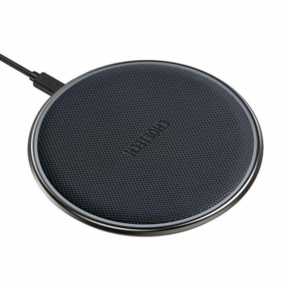 wireless charger qi certified zinc alloy 5w