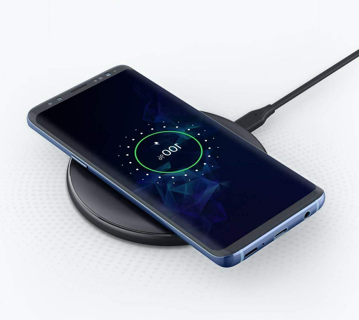 Wireless Charging Pad - Anker 10W Wireless Charger Qi-Certif