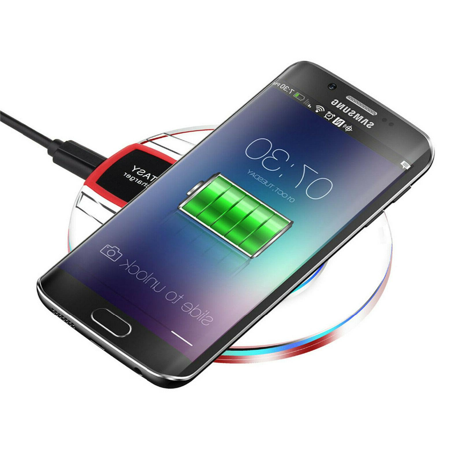 Qi Charger Samsung S8+ S8 S7 S6 S6 Edge