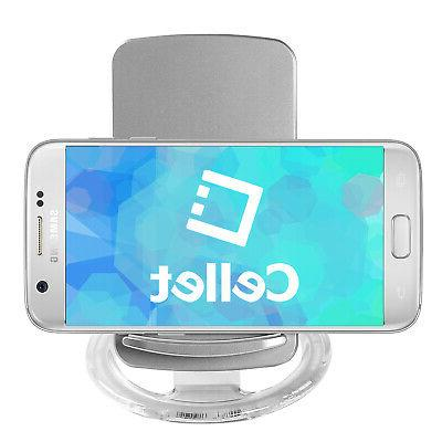 Wireless Cellet for Qi Silver