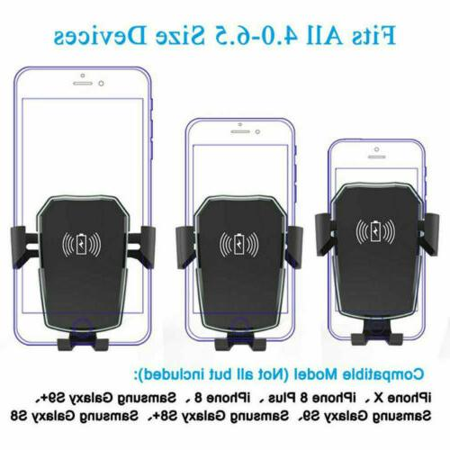 Fast Qi Charger Holder for S10 XS