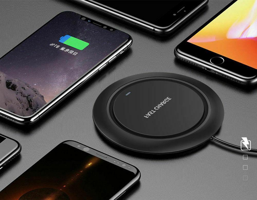 Qi Wireless Dock Charging Pad iPhone X XS Max