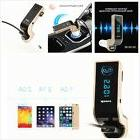 Wireless Hands-free Bluetooth FM Transmitter with Car Charge