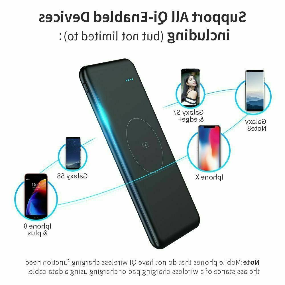 Wireless Charger,TOVAOON Wireless Fast