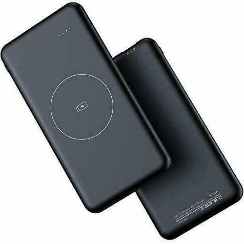 wireless portable charger 10000mah wireless power bank