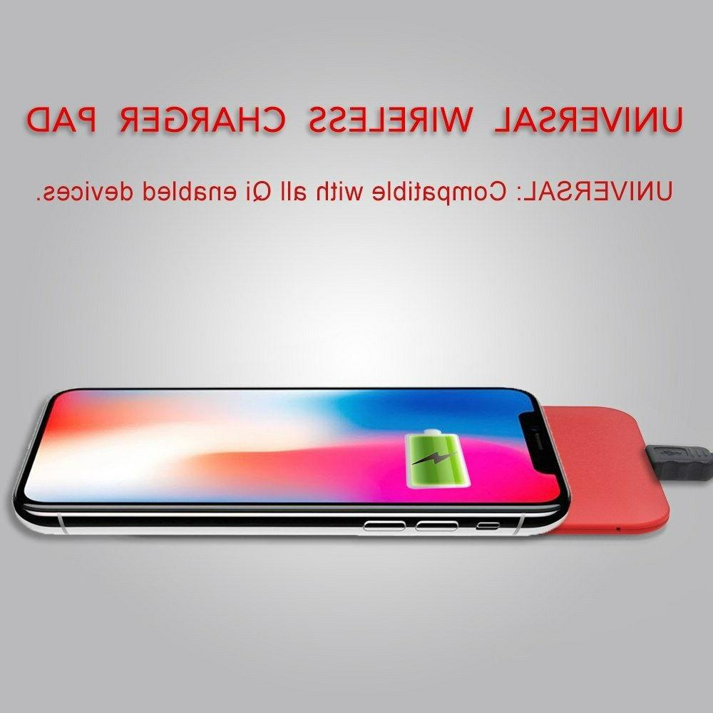 Wireless Ultra Slim Red Qi Cell for &