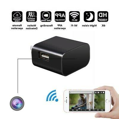 Z19 4K 1080P Adapter Wall Charger Motion Detection