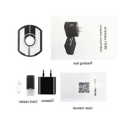 Z19 WiFi HD 1080P Hidden USB Adapter Wall Charger Motion Detection