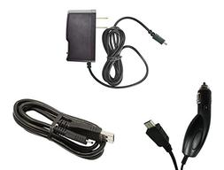 LG Escape 3 K373  - Premium Bundle Pack - Car Charger + Trav