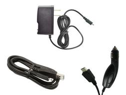 LG Phoenix 2 K371  - Premium Bundle Pack - Car Charger + Tra