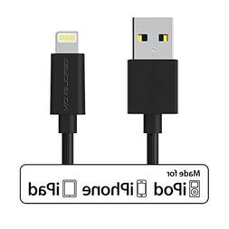 ZeroLemon Lightning to USB Plastic PVC Cable 3.2 Feet / 1 Me