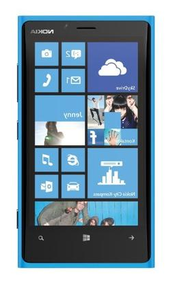 Nokia Lumia ATT 920   RM-820 Windows SmartPhone 32GB - Cyan