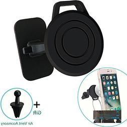 Magnetic iPhone 8 plus Cell Phone Holder For Car, Universal