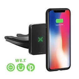 XVIDA Magnetic Wireless Charger Car Mount, CD Slot Phone Hol