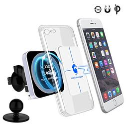 DOCA Magnetic Wireless Car Charger, Magnet QI Wireless Car C