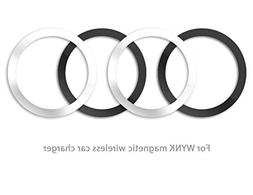 WYNK Metal Rings for Magnetic Wireless Charger Round Ring 59