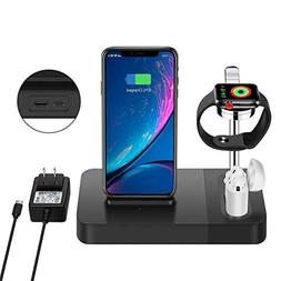 TGHUANG Multi-Function Compatible iPhone Wireless Charger/Ai
