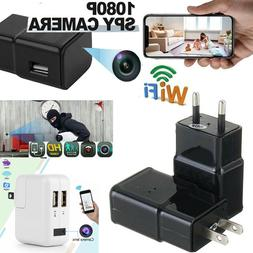 New 1080P HD Security Hidden Camera Wifi Nanny Cam USB Wall