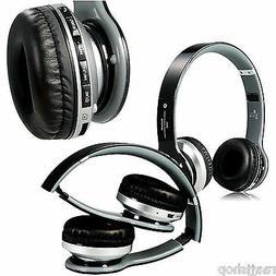 NEW BOXED BLUETOOTH WIRELESS HEADSET HEADPHONES + MIC FOR HT