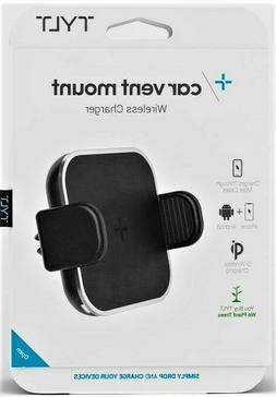New BULK OEM TYLT 5W Car Vent Mount Wireless Qi Charger For