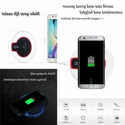 New Qi Wireless Charger Charging Pad for Samsung S5 S6 S7 Ed