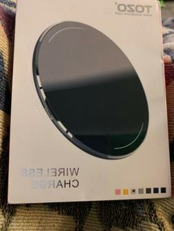 NEW Tozo W1 Wireless Charger UltraThin Aviation Aluminum Fas