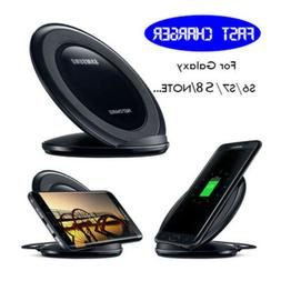 OEM Qi Fast Charger Wireless Charging Stand Dock Pad For Sam
