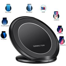 Original Fast Qi Wireless Charger Pad For Samsung Galaxy S8