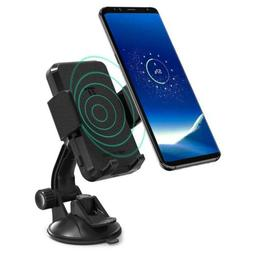 TaoTronics Phone Holder for Car, Wireless Car Charger Mount,