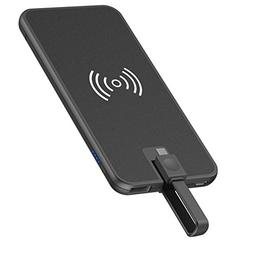 Portable Wireless Charger – Vastti 5000mAh 3 in 1 Qi Wirel