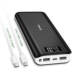 Portable Charger,24000mAh Power Bank EMNT 2.4A Quick Charge