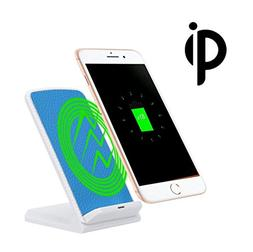 HP95 Portable 3-Coils Charge Qi Wireless Charging Stand Dock