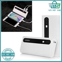 Aibocn Power Bank 10,000mAh External Battery Charger with Fl