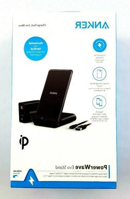 Anker PowerWave Evo Stand Fast Quick Wireless Charger 3.0 St