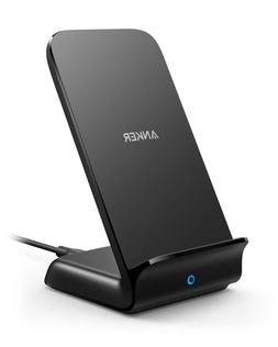 Anker Wireless Charger PowerWave 7.5 Stand Qi-Cet Fast Charg