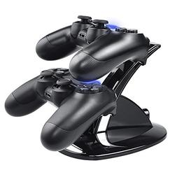 DinoFire PS4 Controller Charger, Dual Shock 4 Controller Cha