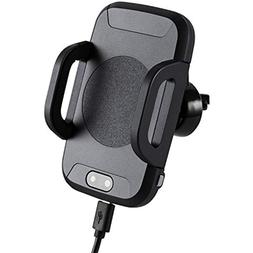 Qi Car Chargers Wireless Mount, Infrared Sensor Charger, Cel