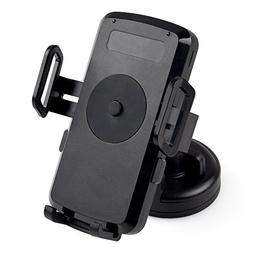 iDOO Qi Car Mount Wireless Charger Vehicle Dock with Suction