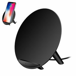 Qi Certified Fast Charge Wireless Charger Stand 7.5W Compati