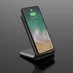 Seneo Qi Certified Wireless Charging Stand Compatible W/ Lat