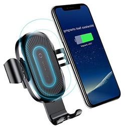 Qi Wireless Car Charger,Baseus Qi Fast Wireless Charger Grav
