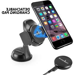 Triverve Qi Wireless Car Charger & Phone Holder, 5W Charging