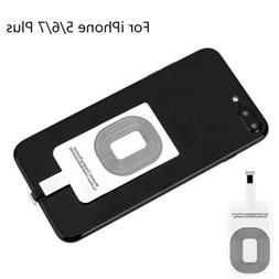 Qi Wireless Charger Adapter Charging Receiver For iPhone 6 /