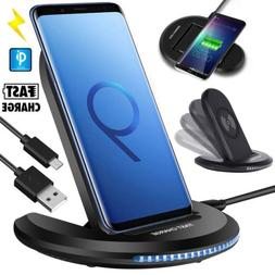 qi wireless charger car charging phone mount