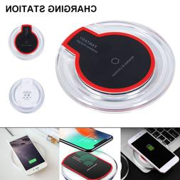 Qi Wireless Charger Charging Pad Dock Station Case For iPhon